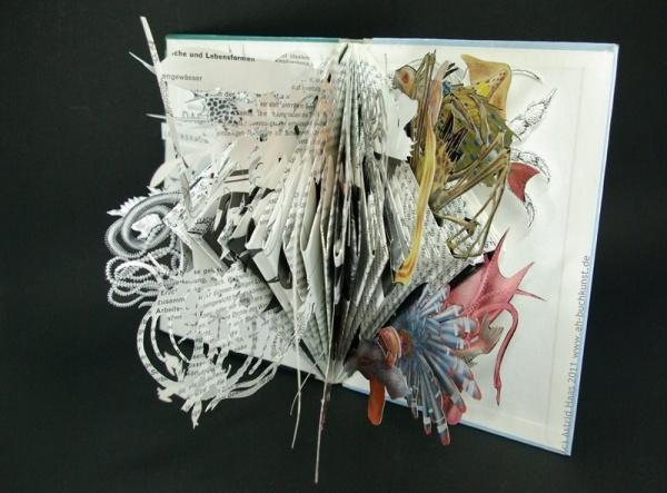 Astrid Haas, Das Meer, Bookobject, 2011