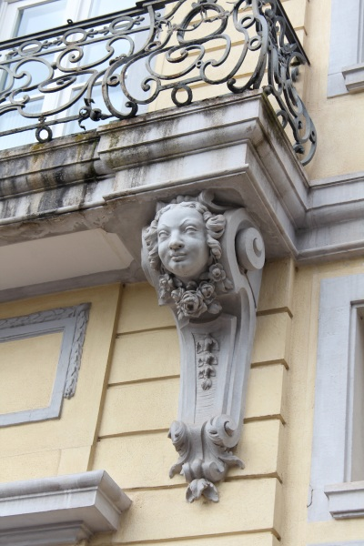 Schloss-Architectural detail