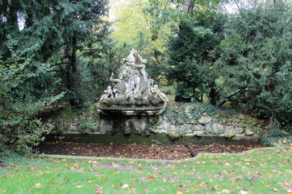 Karlsruhe Schloss-Fountain
