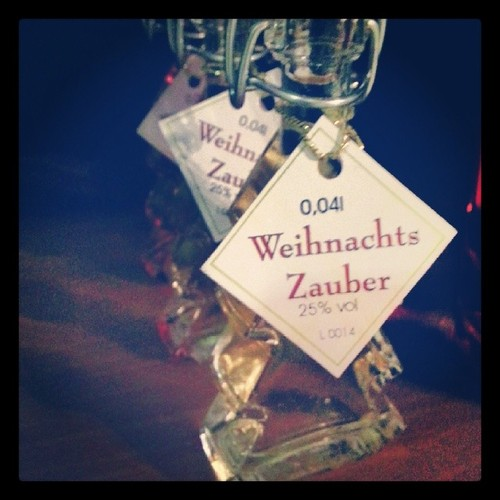 Christmas Liquor from the Schnapps House in our village.