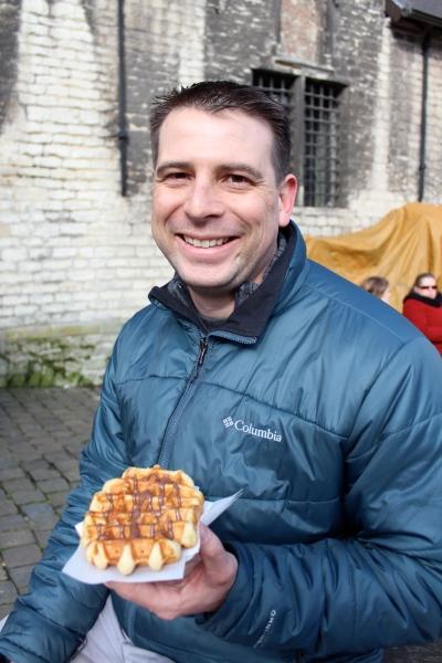 Mmm... the waffles were so good!