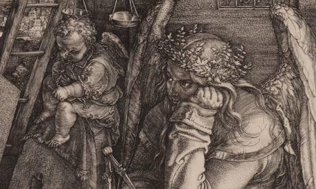 Albrecht Dürer, Melancholia I (Detail), Engraving