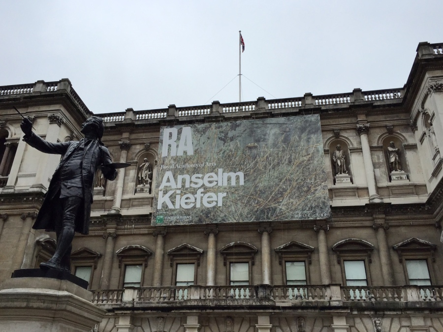 Layers upon Layers: Anselm Kiefer at theRA